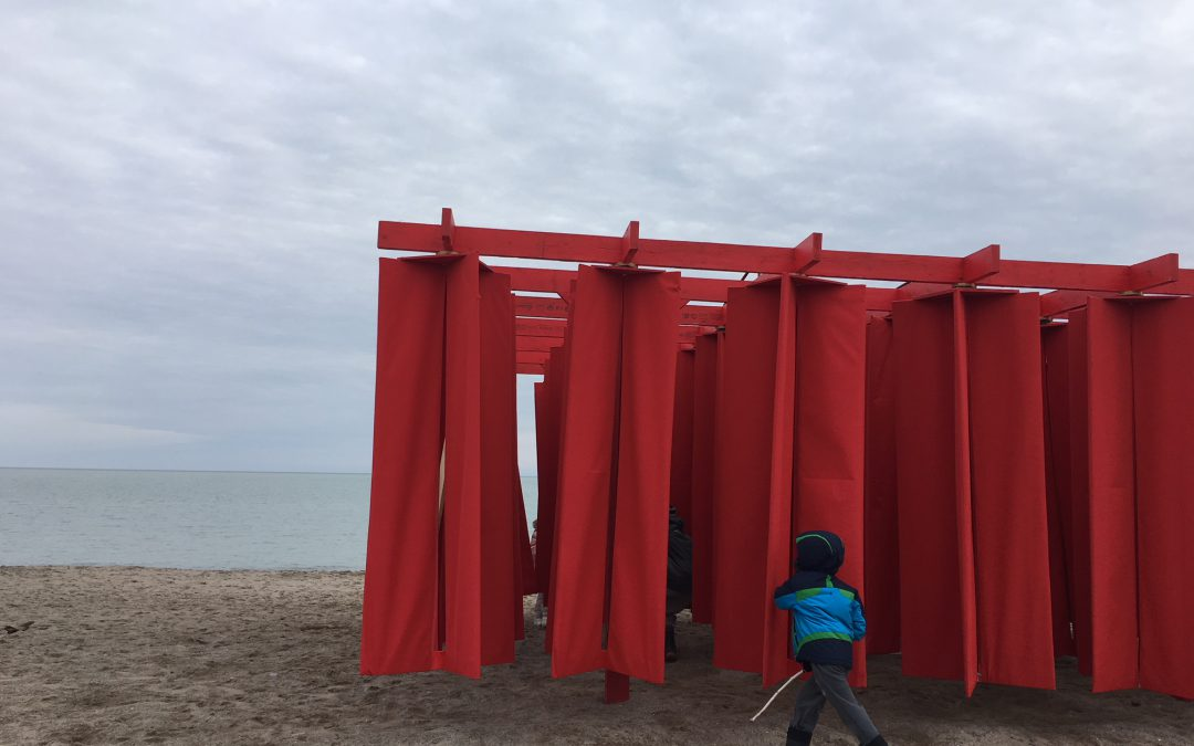 Winter Stations at The Beach