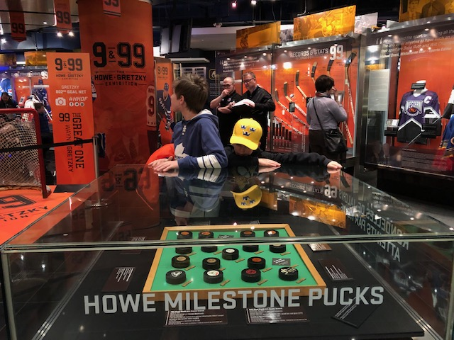 Hockey Hall of Fame - 9 and 99 exhibition