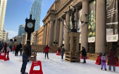 SKATING AT UNION STATION